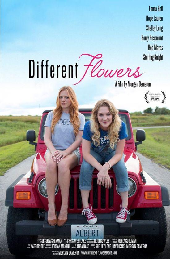 actress chelsey hope lauren different flowers