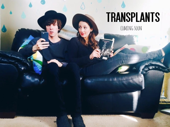 actress brittney bertier transplants the web series poster