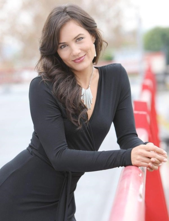 actress nadine nicole casual